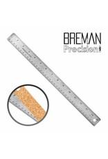 12 Inch Stainless Steel Metal Ruler