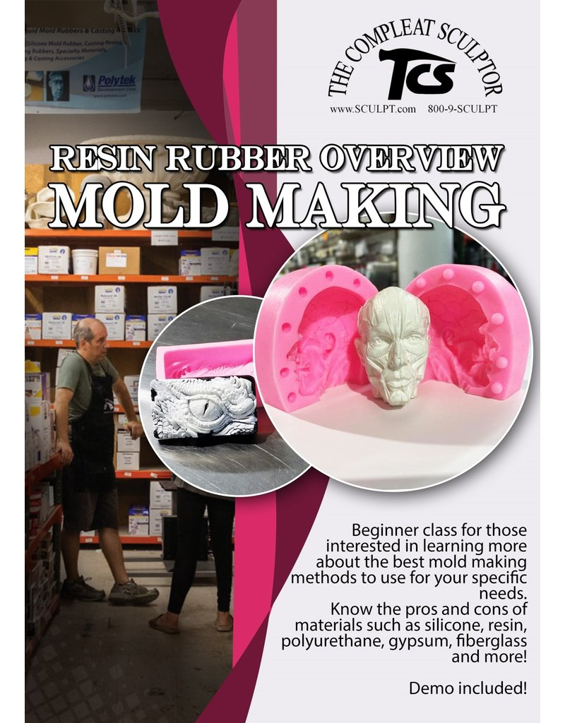 TCS Classes 210310 Resin Rubber Overview Mold Making- March 10
