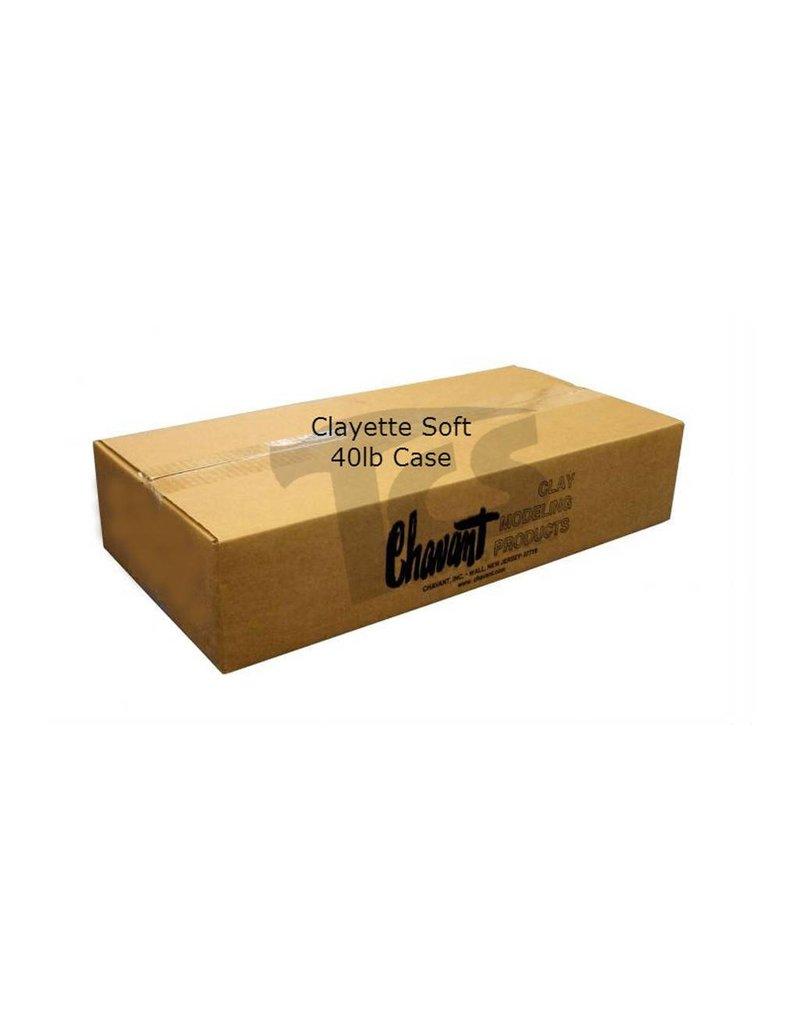 Chavant Clayette Cream Soft 40lb Case (2lb Blocks)