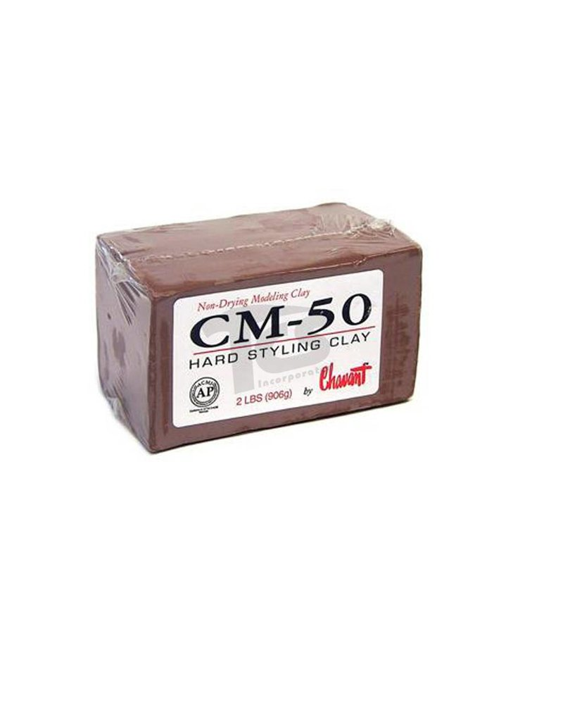Chavant CM-50 Brown 40lb Case (2lb Blocks)