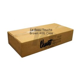 Chavant Le Beau Touche Brown 40lb Case (2lb Blocks)