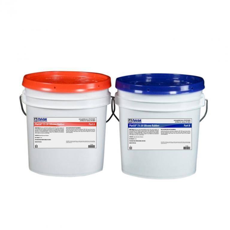 Polytek Platsil 73-20 2 gal kit (16lb)