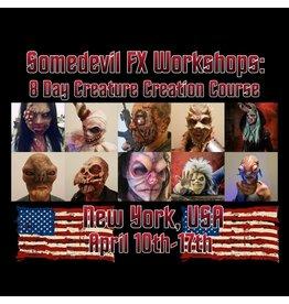Just Sculpt 210410 8 Day Creature Creation Course - Some Devil FX Workshops