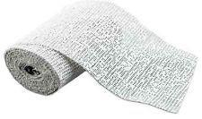 "OCL 5"" Plaster Gauze Case of 4 Boxes (48 rolls)"