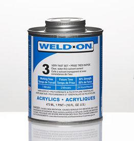 IPS Adhesives Weld-On 3 Pint