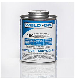 IPS Adhesives Weld-On 4SC Pint