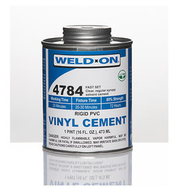 IPS Adhesives Weld-On 4784 Pint