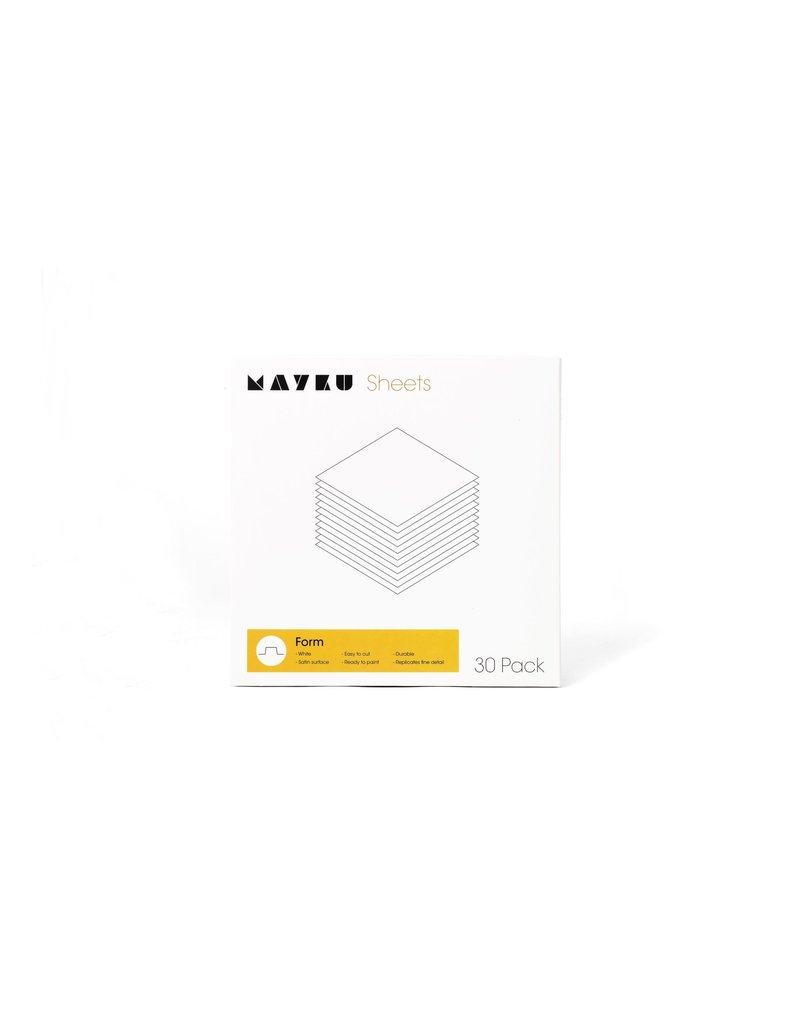Mayku Mayku Form Sheets 30 pack Thermoplastic