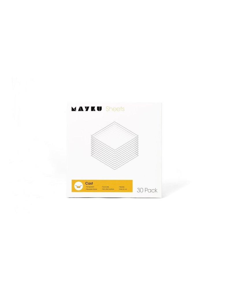 Mayku Cast Sheets 30 pack Thermoplastic