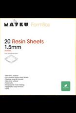Mayku Resin Sheets 20 pack Thermoplastic