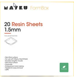 Mayku Mayku Resin Sheets 20 pack Thermoplastic