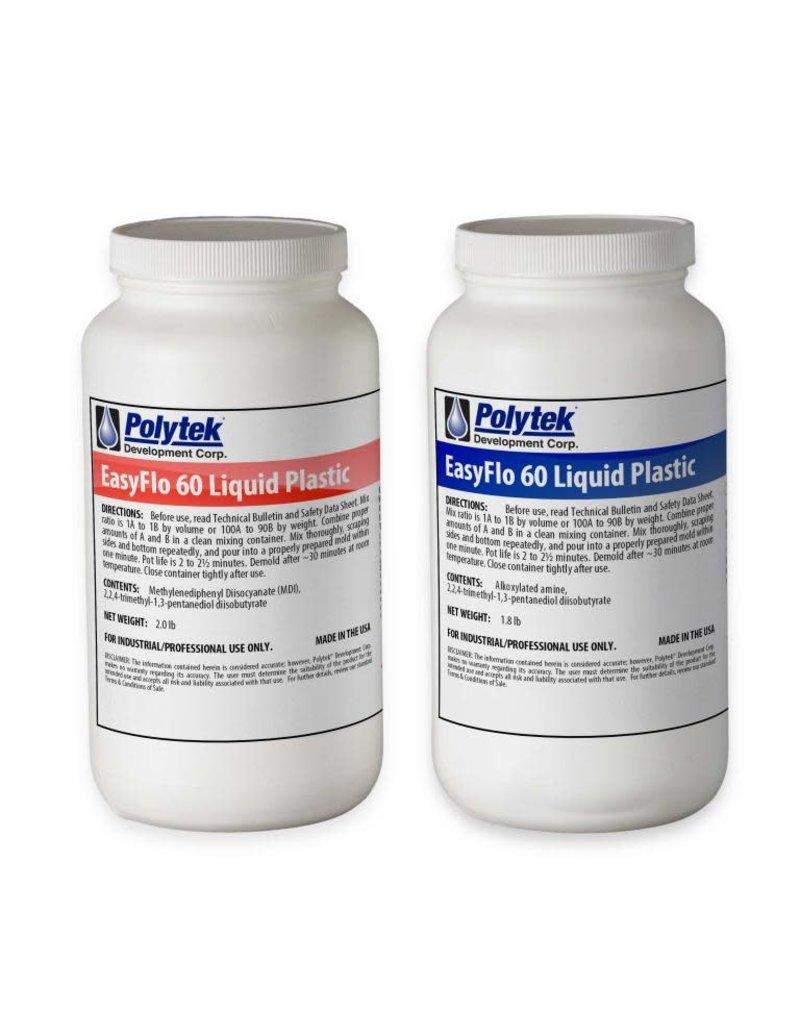 Polytek EasyFlo 60 Trial Kit (3.8lbs) Special Order