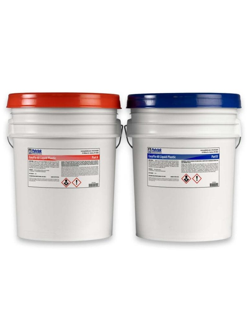 Polytek EasyFlo 60 10 Gallon Kit (76lbs) Special Order