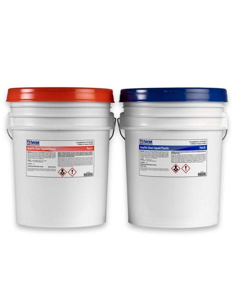 Polytek EasyFlo Clear 10 Gallon (74lbs) Kit Special Order