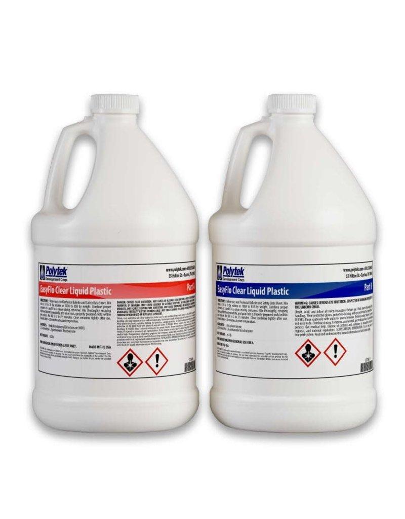 Polytek EasyFlo Clear 2 Gallon Kit (14.8lbs)