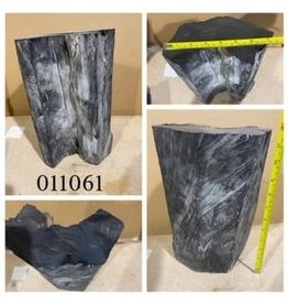 Wood Ebony Chunk 12x7x4 #011061