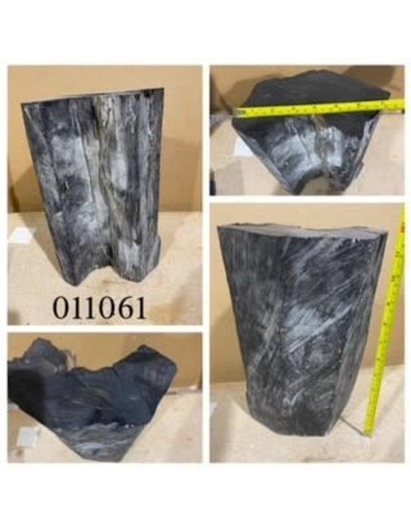 Wood Ebony Chunk 12x7x4 #011061