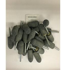 Norton Silicon Carbide Mounted Grinding Stones Bag of 25 CN