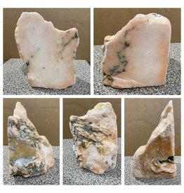 22lb Peach Translucent Alabaster 10x8x7 #251089