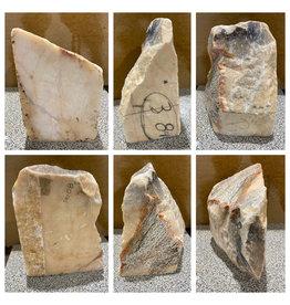 80lb Portuguese Pink Marble 15x12x8 #644313