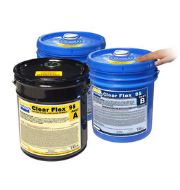 Smooth-On Clear Flex 95 15 Gallon Kit Special Order