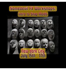Just Sculpt 210715 3 Day Prosthetics snap mold - Some Devil FX Workshops