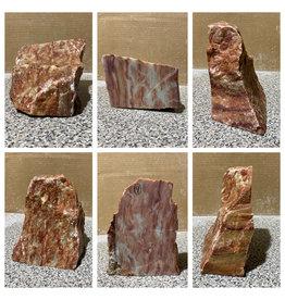Stone 9lb Red Raspberry Alabaster 7x6x4 #161078