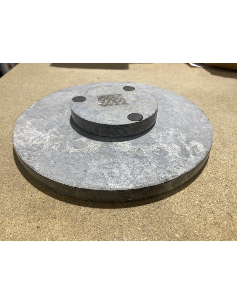 Just Sculpt 12'' Compleat Marble Lazy Susan