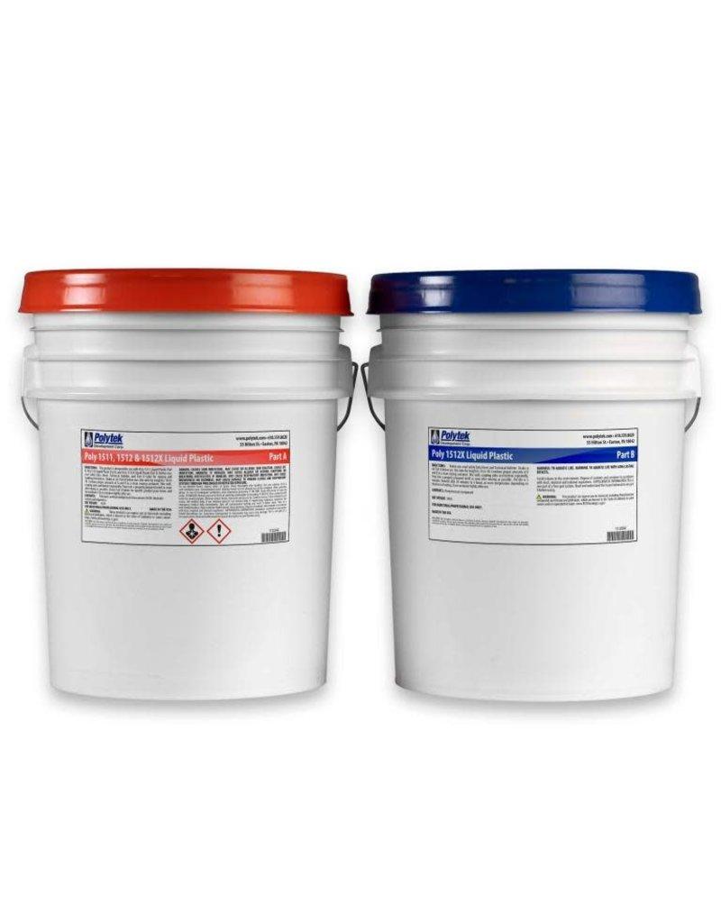 Polytek Poly 15-12x 10 Gallon Kit (80lb)