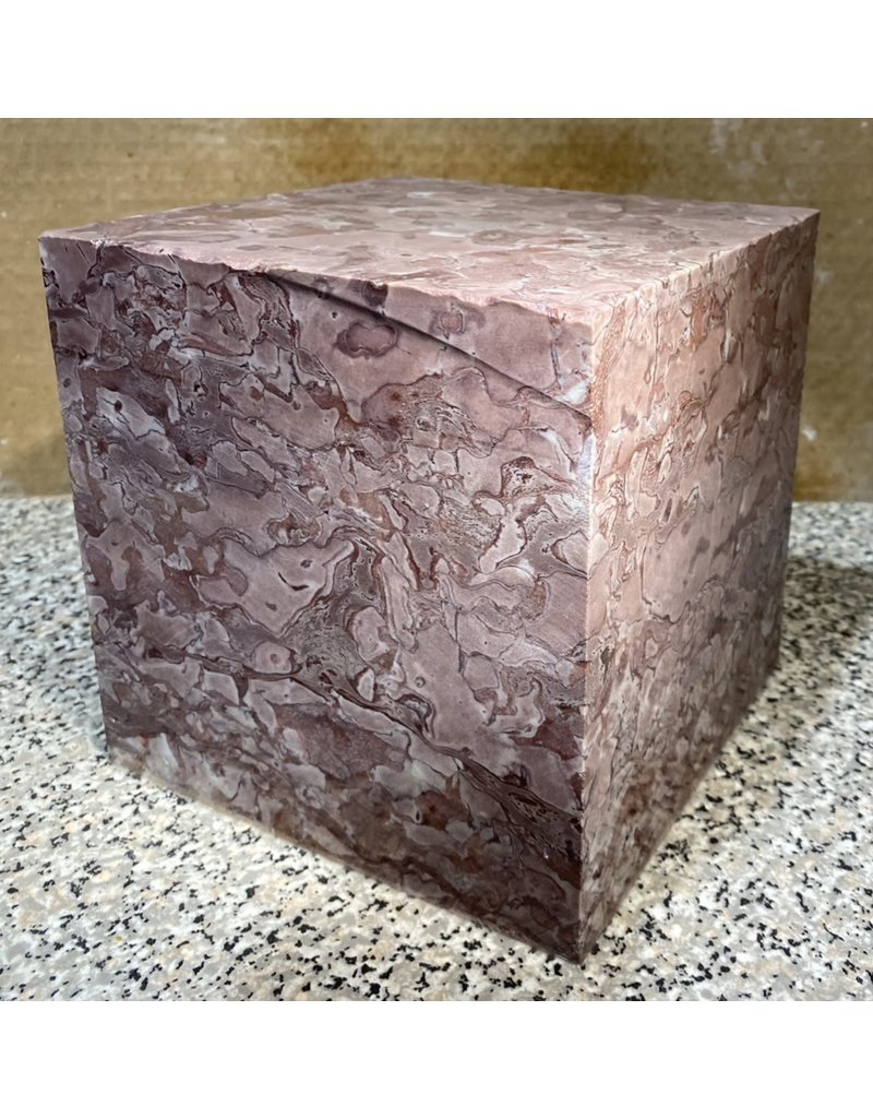 Stone Swanton Red Marble cube 6x6x6