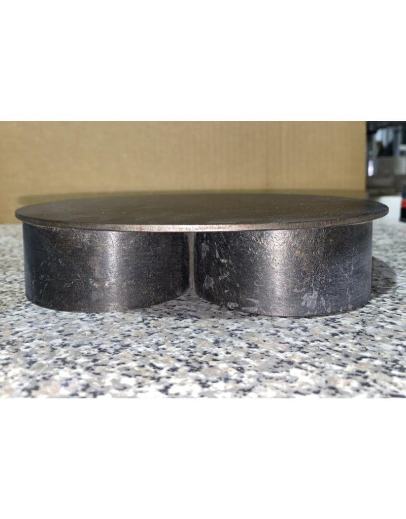 "Just Sculpt Custom Steel Base (8.5"" D x 1.75"" H) Round"