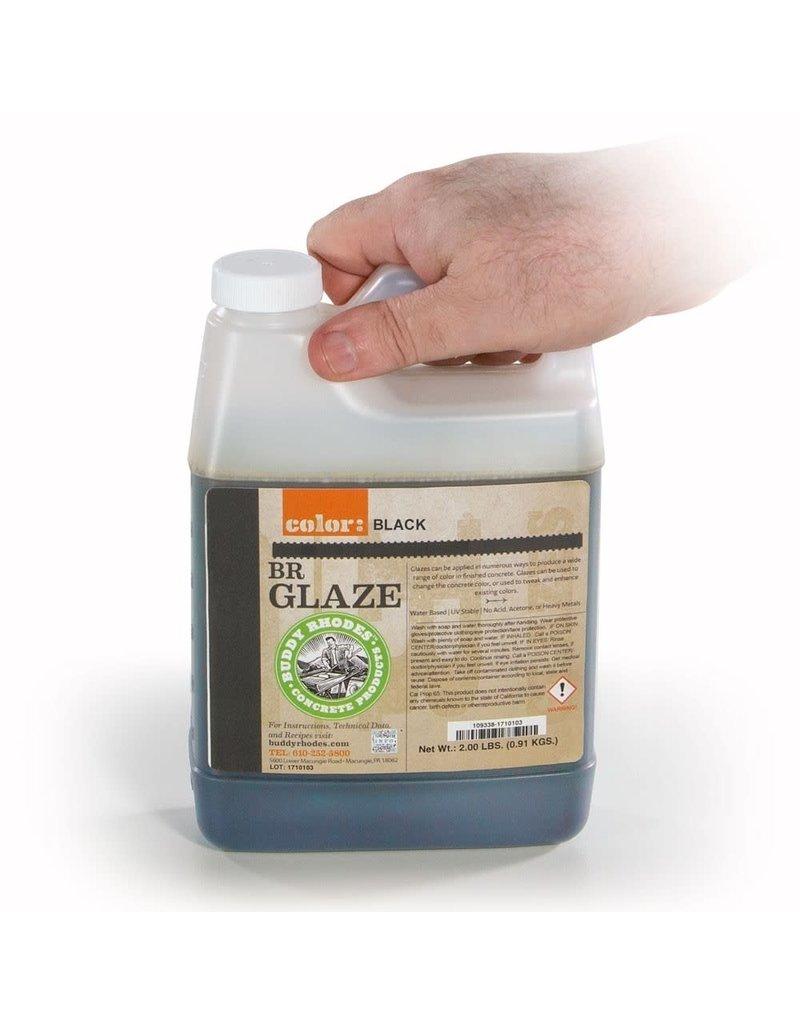 Buddy Rhodes Cement Glaze Black Quart