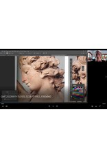 211015 Sculpt from the masters: A Portrait of Diana online workshop - with Mardie Rees
