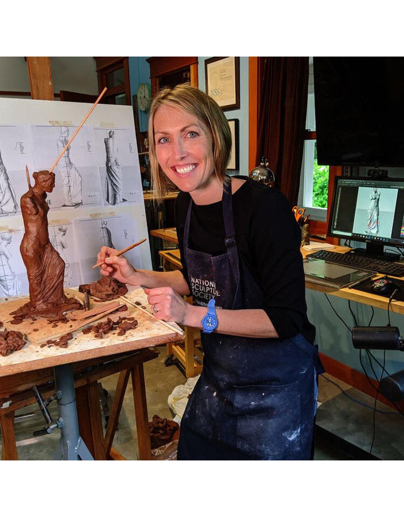 Just Sculpt TBD FREE online workshop with Mardie Rees Sculpt a Portrait