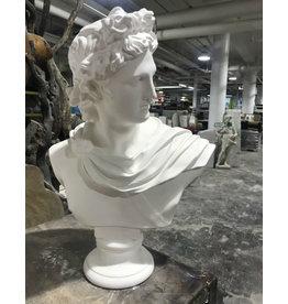 Just Sculpt Apollo Plaster Bust