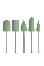 Dedeco International Silicone Jumbo Assortment  Green - Coarse 5pc
