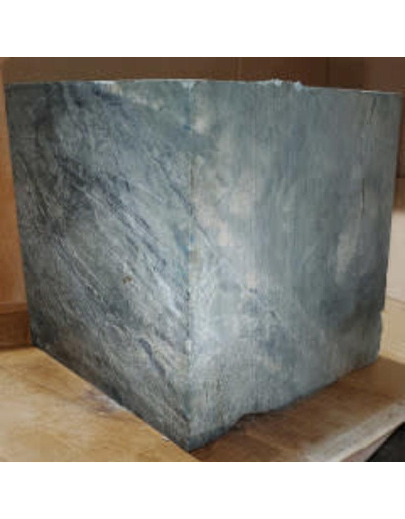 "Just Sculpt 234lb Green Nephrite Jade 12""x12""x12"" Block J025"
