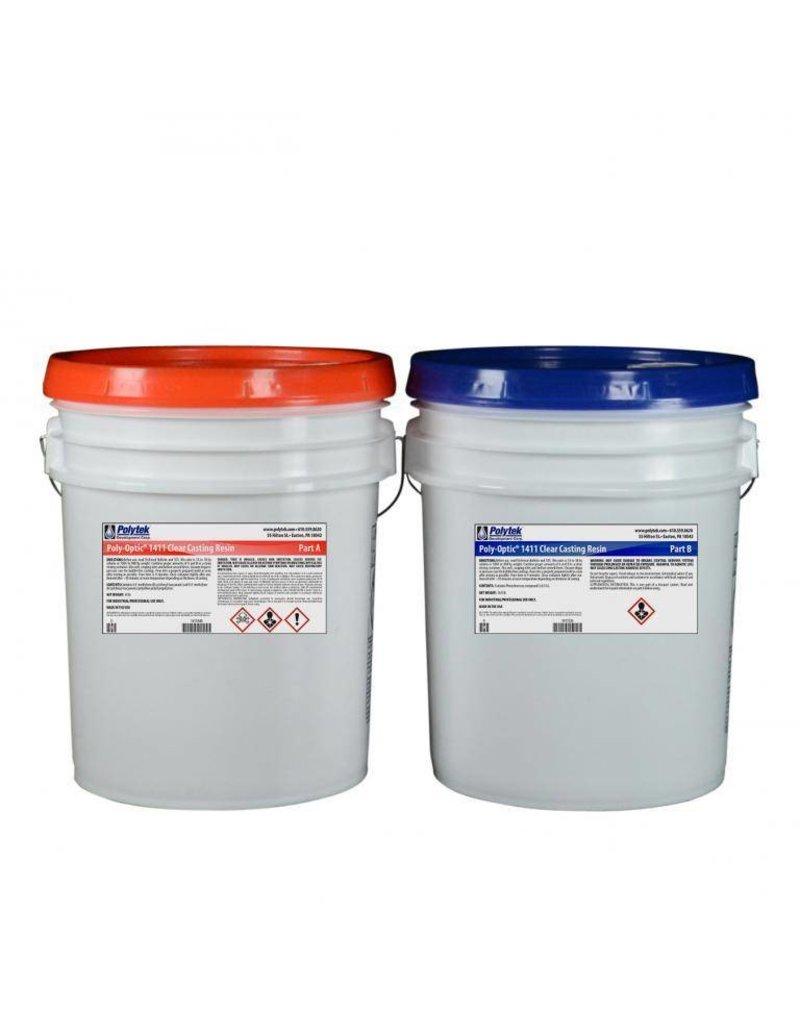 Polytek Poly-Optic 1411 10 Gallon Kit (76-lb)