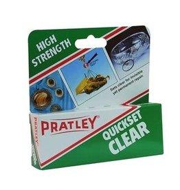Pratley Quickset Clear  - 40ml