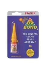 Pratley UV Bond Crystal Clear Glass Adhesive - 3 Grams