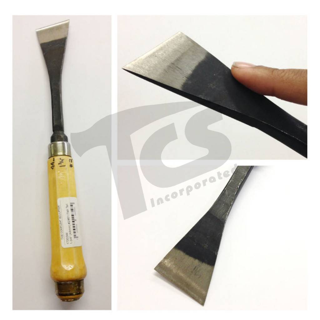#2/#51 Fish Tail Skew Chisel 1-3/4'' (44mm)