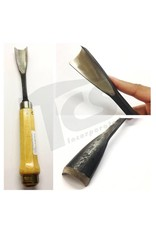 "#10/#59 Fish Tail Wood Gouge 1-1/4"" (32mm)"