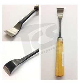 Just Sculpt #1/#23 Shortbend Flat Wood Chisel 1-1/4'' (32mm)