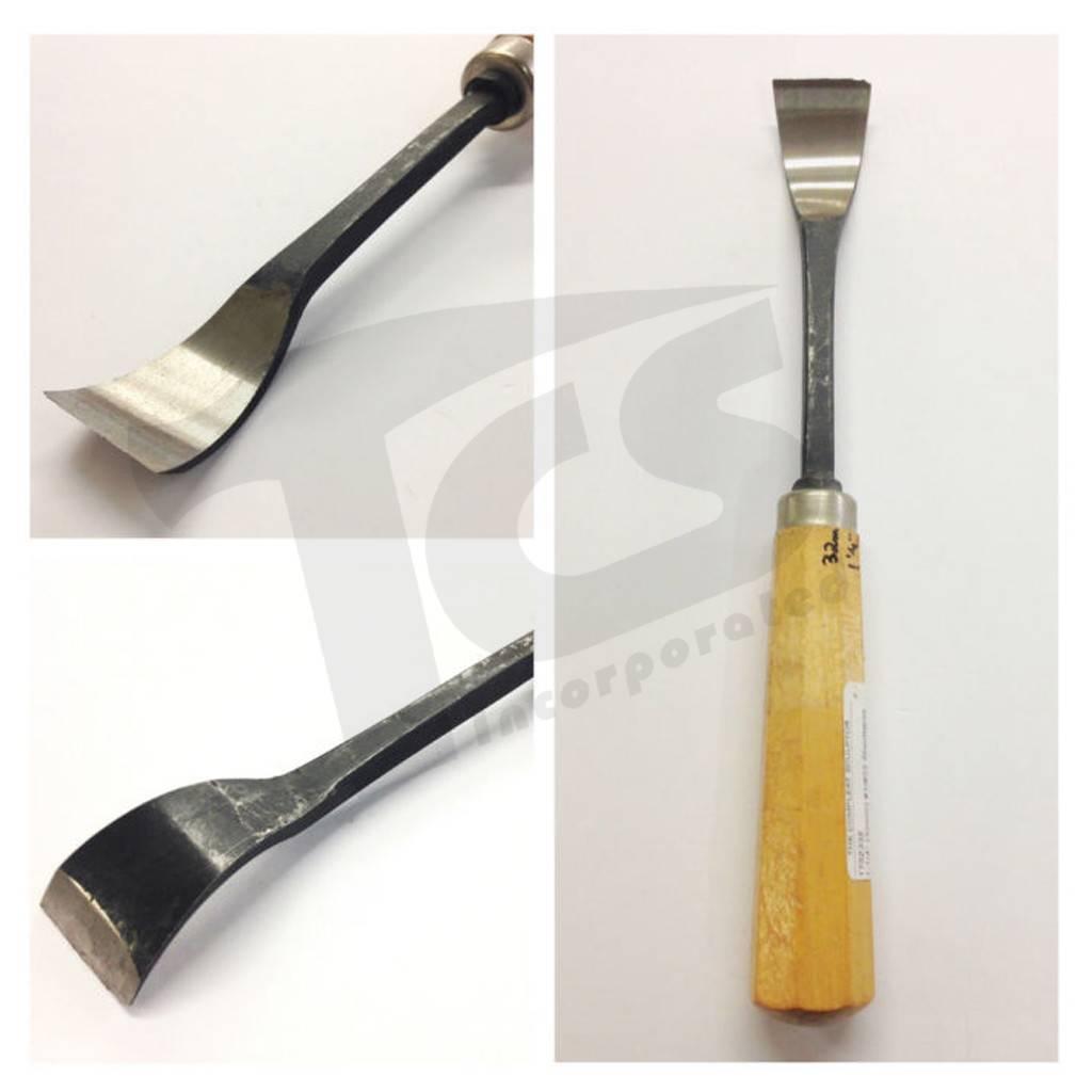 Just Sculpt #1/#23 Shortbend Flat Wood Chisel 1-1/4'' (32mm)