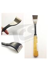 Just Sculpt #1/#23 Shortbend Flat Wood Chisel  1-5/8'' (40mm)