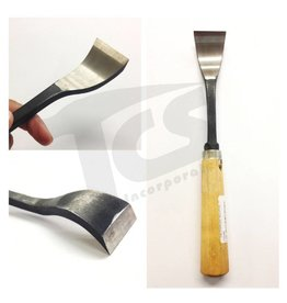 Just Sculpt #1/#23 Shortbend Flat Wood Chisel  1-5/8'' (40mm)