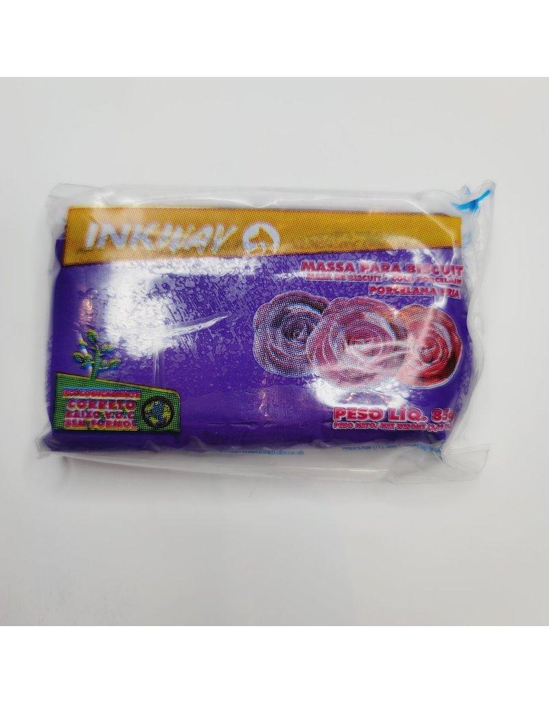 Inkway Air Dry Clay Violet 85g