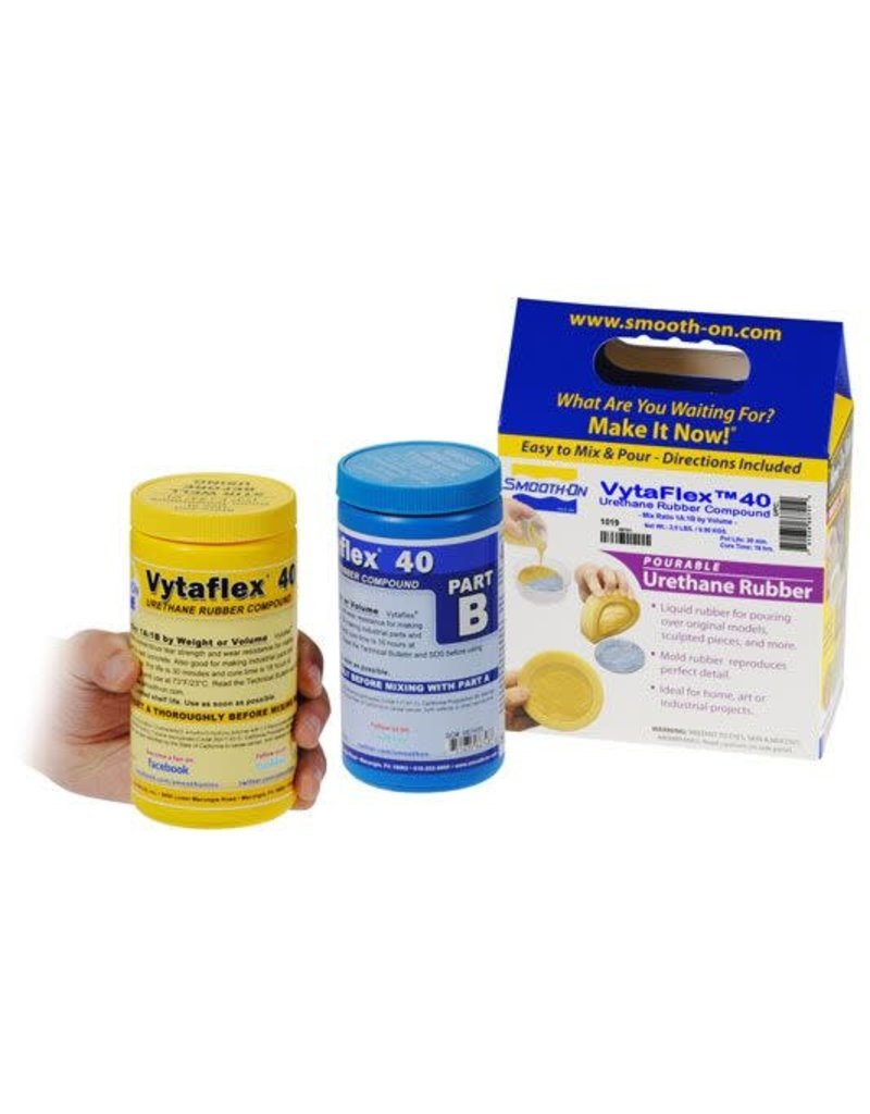Smooth-On VytaFlex 40 Trial Kit Special Order