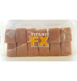 Titanic FX TITANIC FX PROSTHETIC GELATIN - Medium FLESH COLOUR (1KG)