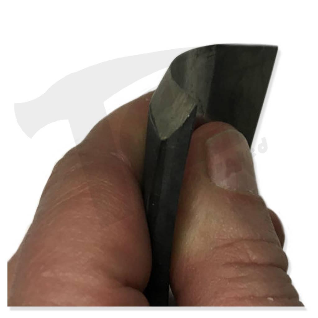 Just Sculpt #7/#56 Fish Tail Wood Gouge 1-3/4'' (44mm)